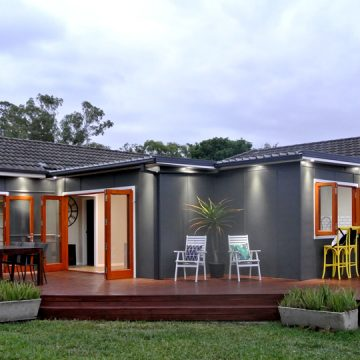Bi Fold Doors to Backyard