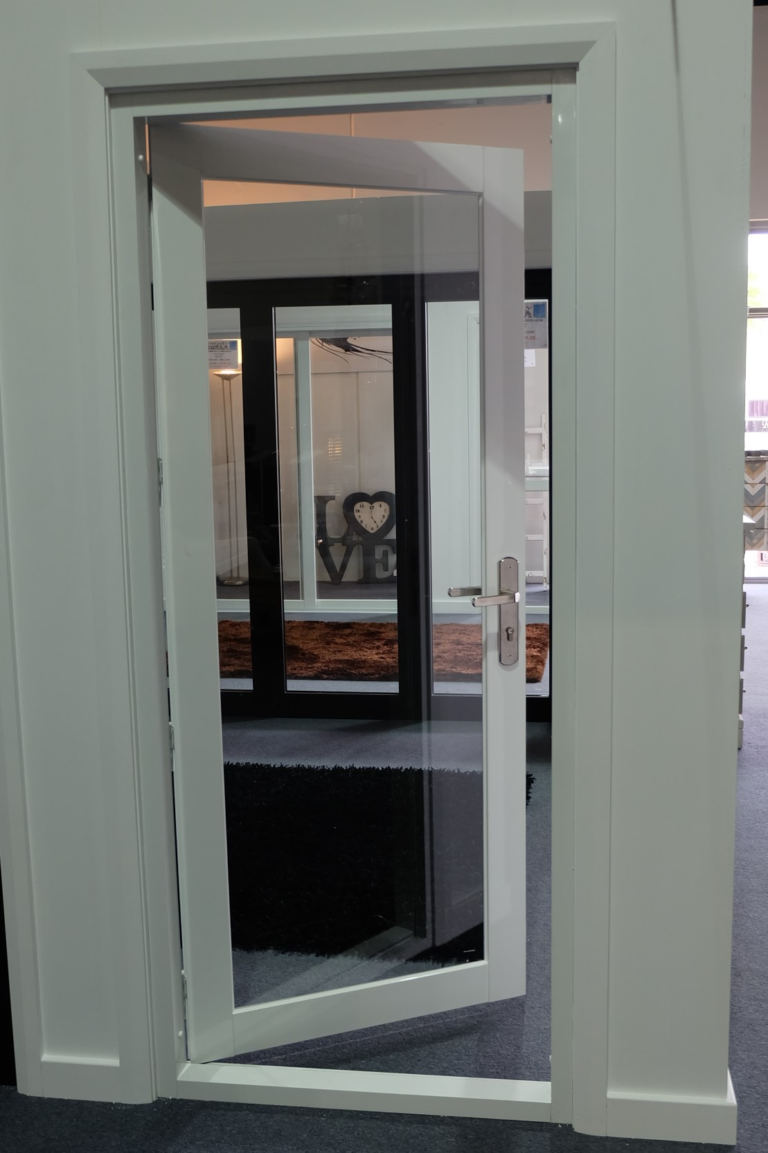 French Door 900 X 2100h Open From Inside Simply Doors And Windows