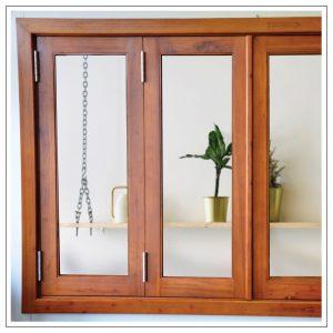Cedar Bi Fold Windows