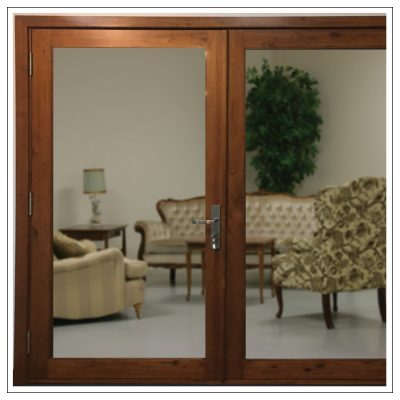French Doors Clear Glass