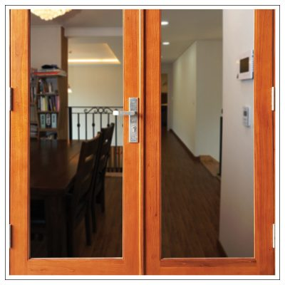 Cedar French Door