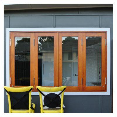 Cedar Windows Closed