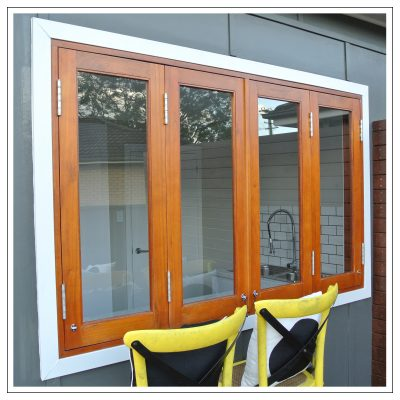 Cedar Bi Fold Windows