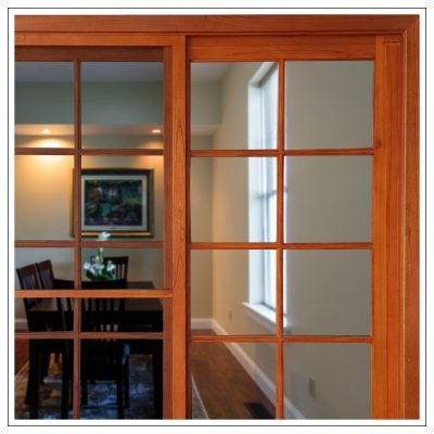 Cedar Colonial French Doors
