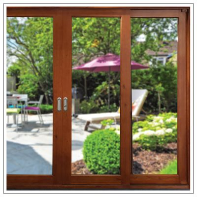 Solid Cedar Timber Sliding Doors